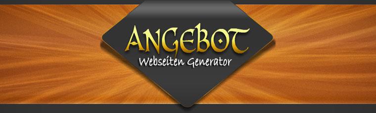Anhebot-Webseiten-Generator