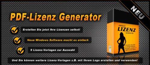 Lizenz-Generator